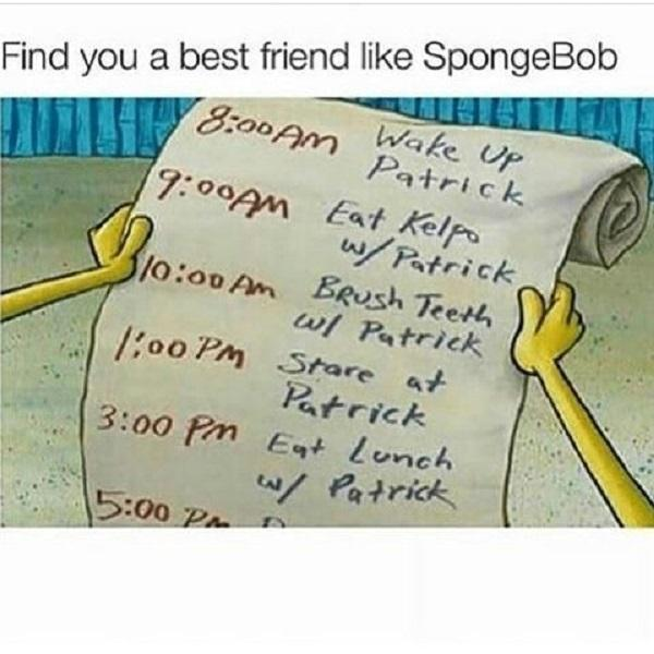 Funny Spongebob meme friend like spongebob
