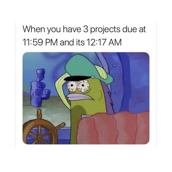 Funny Spongebob meme project