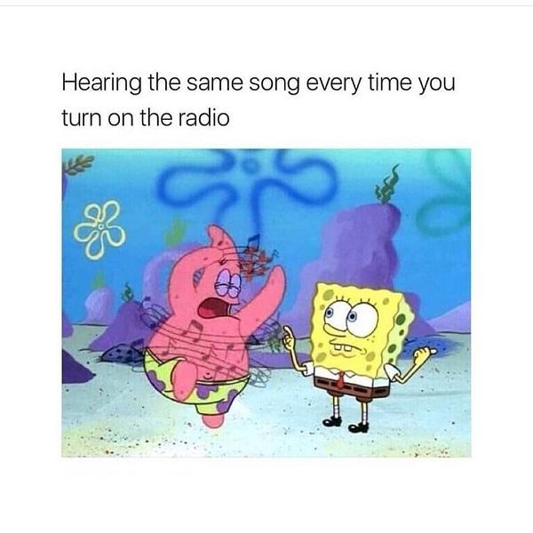 Funny Spongebob meme same song