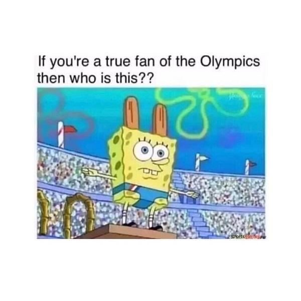 Spongebob meme olympics