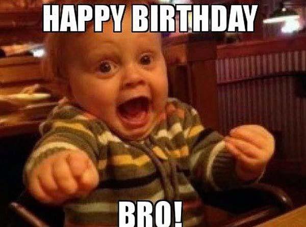 baby happy birthday meme for him
