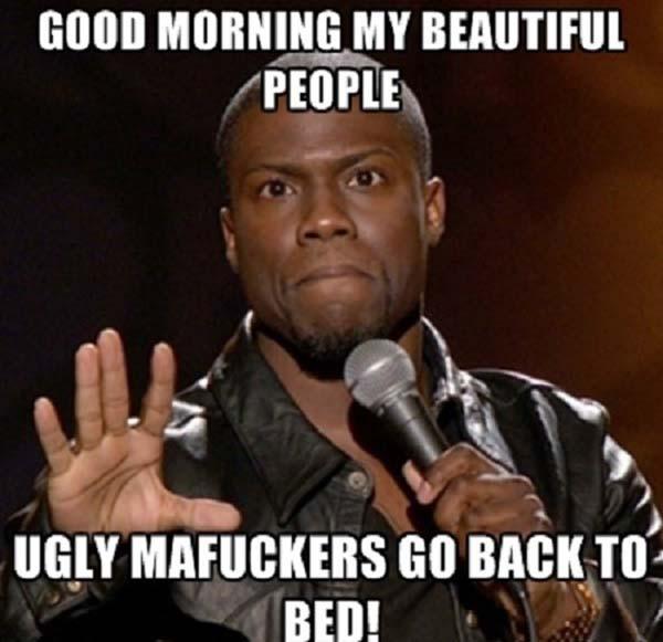 beautiful_people kevin hart good morning meme