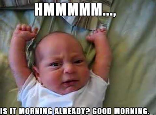 Funny Good Morning Meme