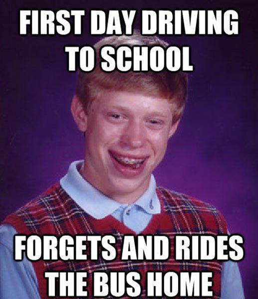 first day driving school