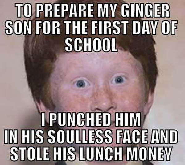 funny first day at school