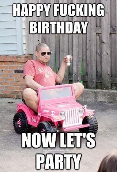 funny happy birthday meme for kids