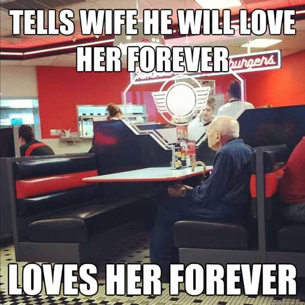 funny love memes for her old