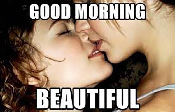 good morning beautiful cute