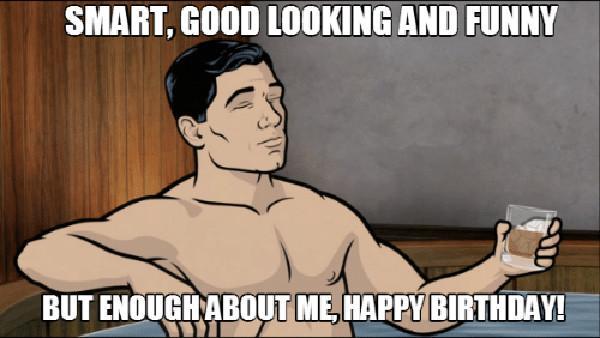 happy birthday meme archer