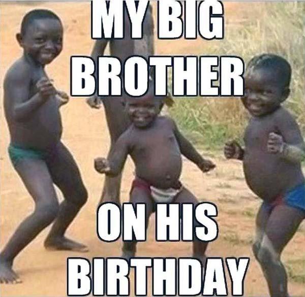 happy birthday brother meme Fresh Funny Birthday Memes for Dad M
