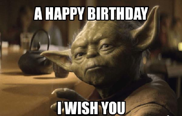 happy birthday meme for kids star wars