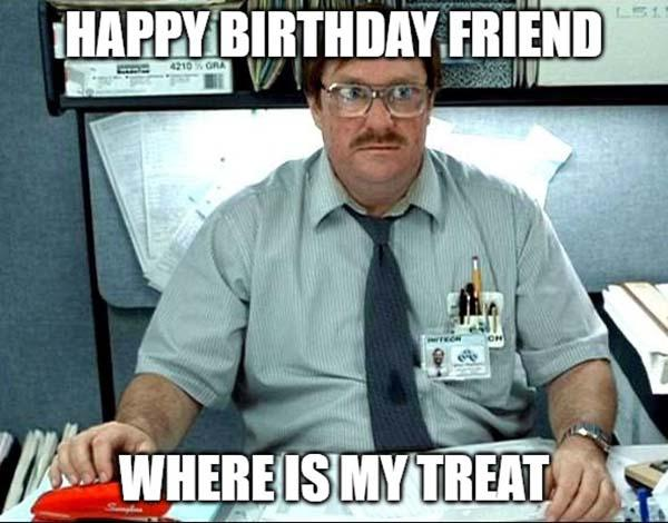 happy birthday meme friend