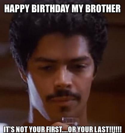 happy birthday meme little brother