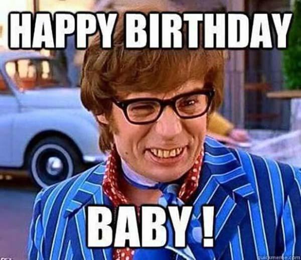 happy birthday meme sister baby