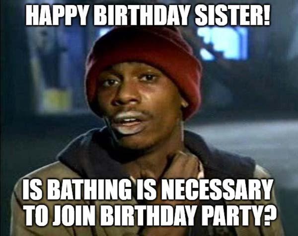 happy birthday meme sister dave chapelle