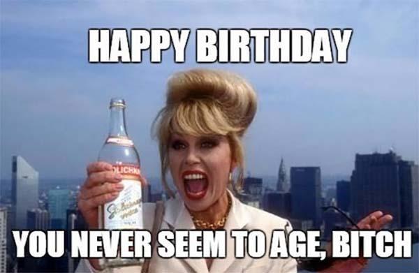 happy birthday meme sister funny
