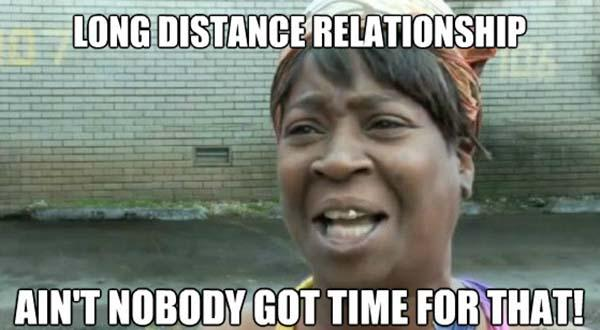 long distance relationship memes not boday got time