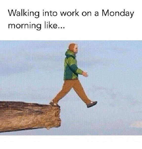 monday work meme