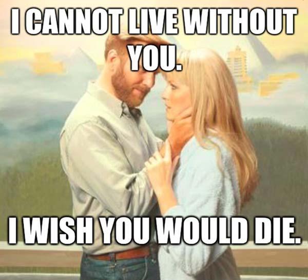 romantic memes psyco
