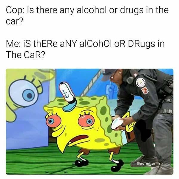 spongebob mocking meme funny