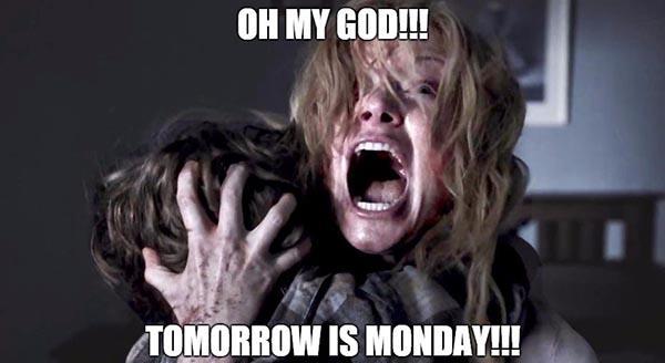 tomorrow is monday meme