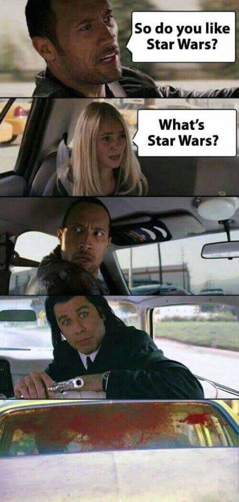 Do you like star wars funny meme
