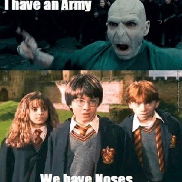 Harry Potter memes i have an army