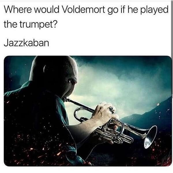 Harry Potter memes trumpet