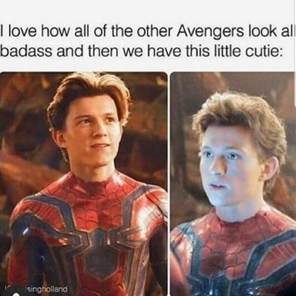 Spider Man Meme cutie