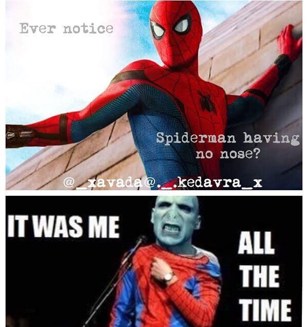 Spider Man Meme have no noise