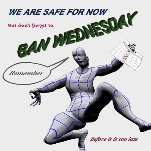 ban wednesday meme