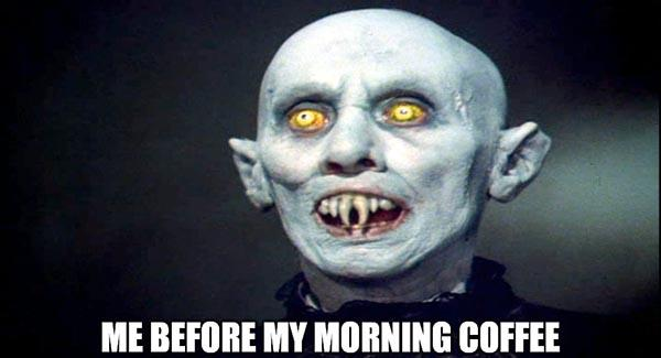 before my morning coffee memes
