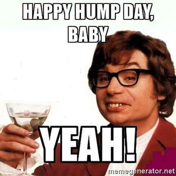 hump day meme yeah!