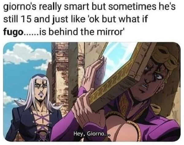 jojo memes giorno's
