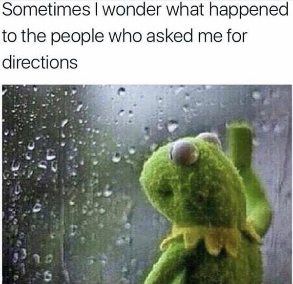kermit meme people ask for direction