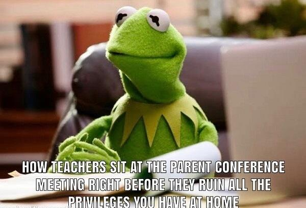 kermit meme teacher