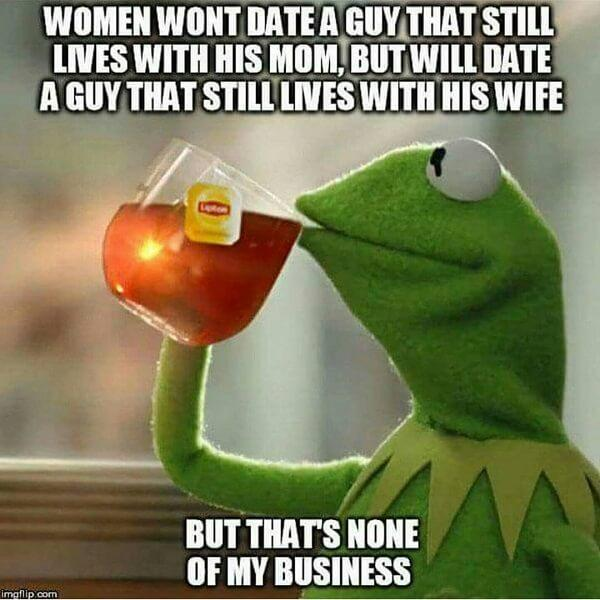 kermit the frog tea meme woman and wife