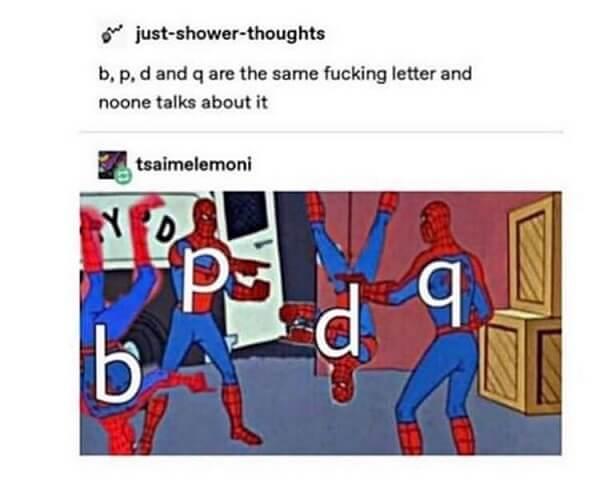 spiderman pointing meme caracters