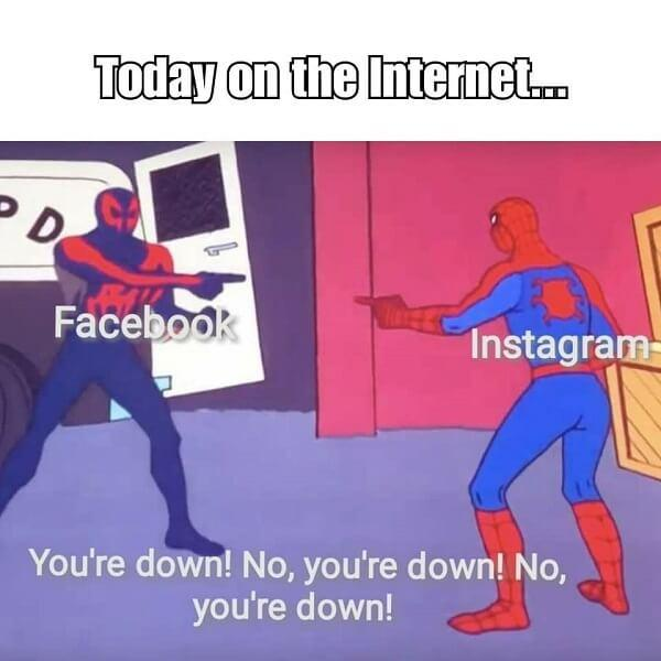 spiderman pointing meme today on the internet