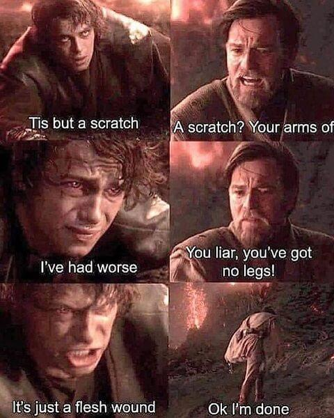 star wars meme im done