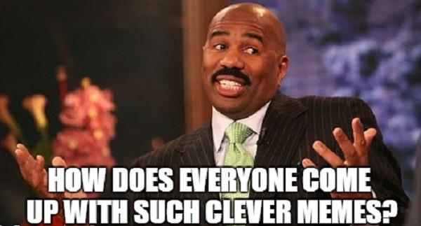 steve harvey laughing meme funny