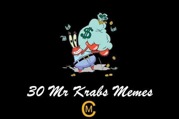 30 Mr Krabs Memes