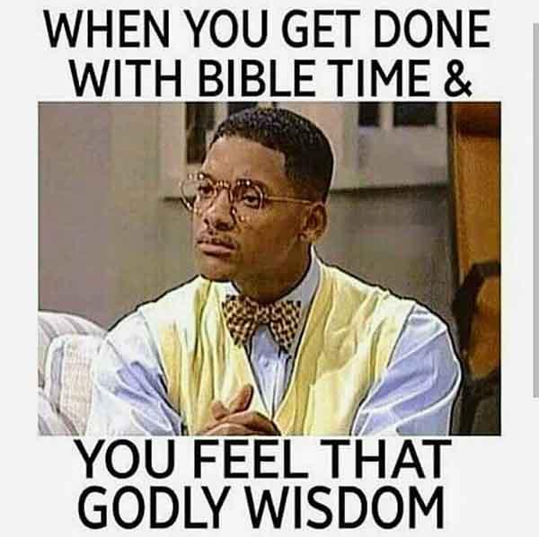 bible time meme