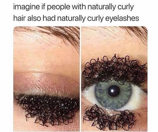 clean memes curly eyelashes