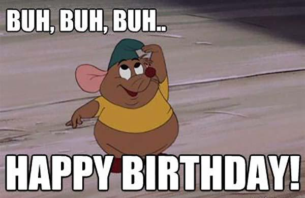 disney birthday meme buh buh buh
