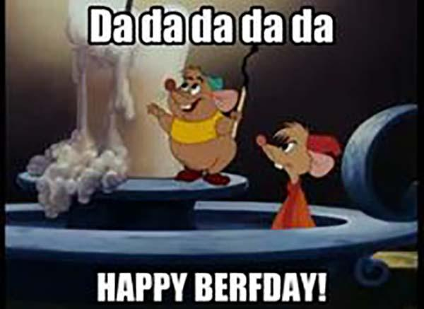 disney birthday meme