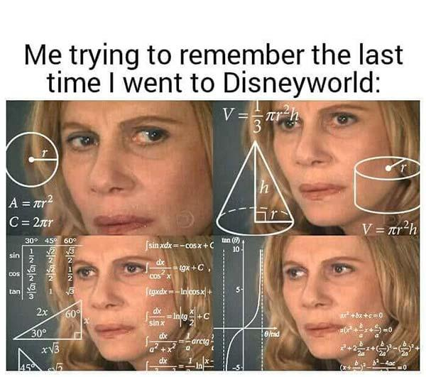 disney meme last time i went to disney world