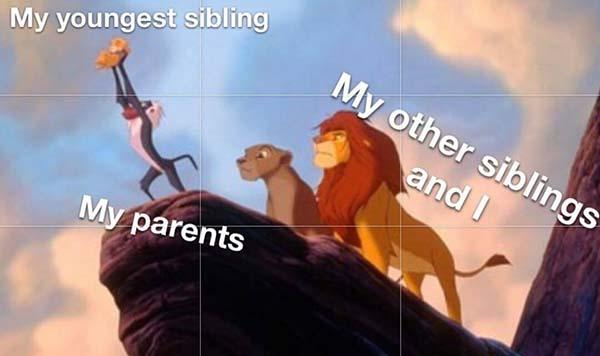 disney meme lion kings youngest siblings