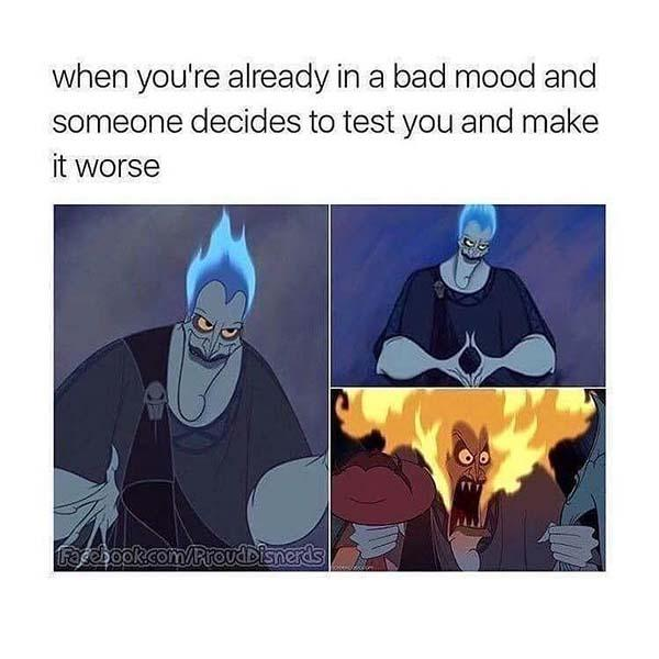 disney meme when you're already in a bad mood