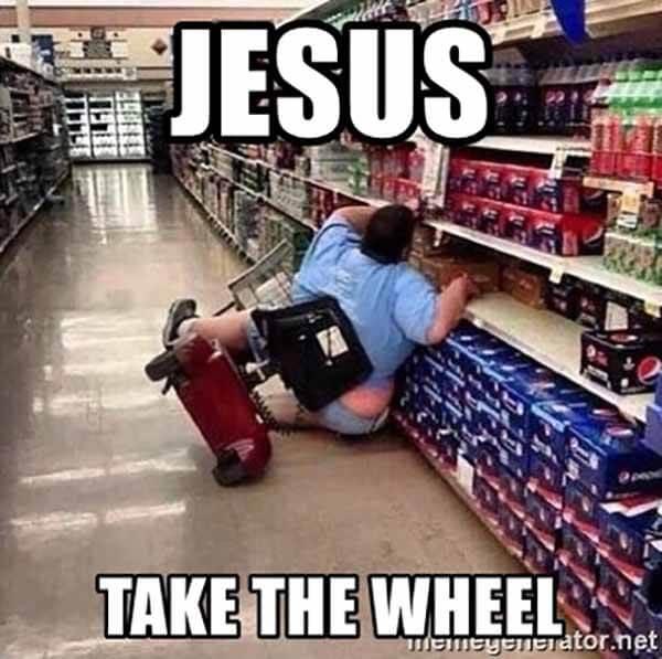 jesus-take-the-wheel funny
